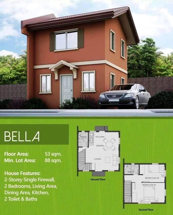 Riverscape Apartments: Camella Riverfront Bella Model Unit